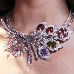 GABRIELLE'S AMAZING FANTASY CLOSET   Chaumet est une fête Rhapsodie Transatlantique high jewellery necklace