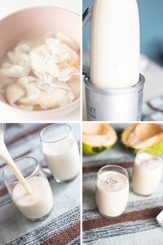 Try and enjoy dairy-free, vegan, and gluten-free Coconut Smoothie for a healthy breakfast or light snack! Make this using 5 ingredients only! Coconut Smoothie, Healthy Smoothies, Smoothie Recipes, Healthy Vegan Breakfast, My Recipes, Drink Recipes, Free Recipes, Light Snacks, Coconut Health Benefits