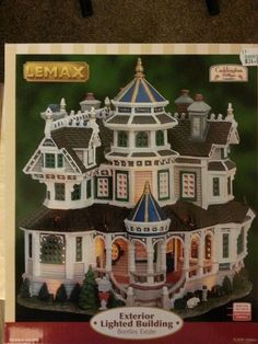 Department 56 Christmas Village, Lemax Christmas Village, Lemax Village, Christmas Villages, Light Building, Nautical Home, Child Face, How To Show Love, Exterior Lighting