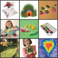 15 fun spring crafts for kids... yay!