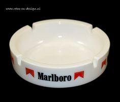 Ronde vintage Asbak Marlboro