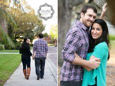 University-of-Tampa-engagement-2, Megan and Matt, UT Engagement Photographer, Roohi Photographer