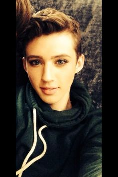 I'm pretty sure Troye Sivan could be a very hot girl getting banged by Tyler Oakley. Oh wait.....that happens anyways ;)