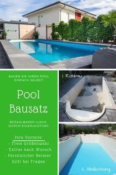 Pool Bausatz Zum Pool Selber Bauen. Wie Sie Einen Luxus Pool Kriegen Und  Durch