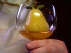 Vanilla Poached Pears Recipe : Alton Brown : Food Network - FoodNetwork.com