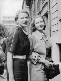Ingrid con la figlia Pia
