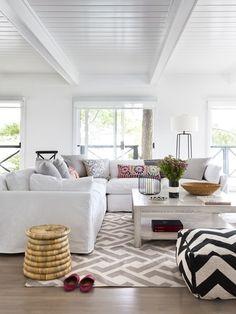 Bohemian Living Room |  Photo Gallery: Muskoka Cottages | House &amp
