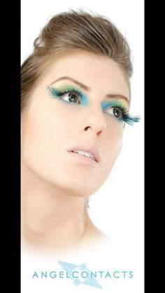 Loving the blue lashes. Peacock Halloween Costume, Halloween Makeup, Halloween Ideas, Halloween Costumes, Peacock Makeup, Lashes, Blue, Beautiful, Haloween Makeup
