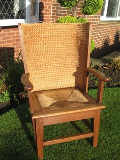 Small Size Orkney Arm Chair - Antiques Atlas Outdoor Chairs, Outdoor Furniture, Outdoor Decor, Wicker, Armchair, Arms, Antiques, Home Decor, Sofa Chair