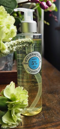 You'll know by now that I only remove my make up with cleansing oils and that I do love to try as much as I can, yo. Create A Company, Occitane En Provence, Cleansing Oil, Beauty Bar, All Things Beauty, Soap Dispenser, Coco, Body Care, Cleanse
