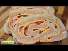 NIÑO ENVUELTO JAMON y QUESO O ROLLITOS DE SANDWICH| ROSVI HERNANDEZ - YouTube