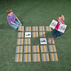 This oversized matching for kids is big fun! A great addition to your outdoor games, turn all the colorful cards upside down and let young learners flip … - Jumbo Matching Game Beach Party Games, Tween Party Games, Bridal Party Games, Princess Party Games, Backyard Party Games, Gender Reveal Party Games, Dinner Party Games, Outdoor Party Games, Outdoor Games For Kids