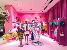 """GUCCI, Bal Harbour, Florida, USA, """"Gucci Garden"""", photo by Randy Moore, pinned by Ton van der Veer"""