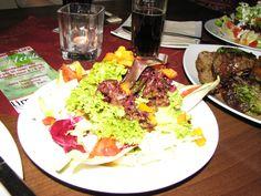 my salad so pretty. in Germany