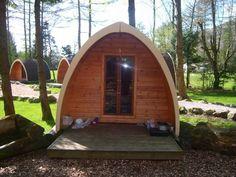 Eskdale camping pods