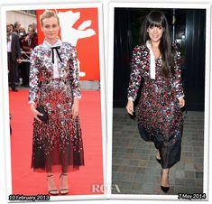 Diane Kruger e Lily Allen em vestido Chanel #FASHIONFAMA