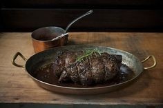 Porcini and Rosemary Crusted Beef Tenderloin with Port Wine Sauce recipe from Food52