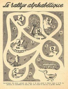 rallye alphabet by pilllpat (agence eureka), via Flickr