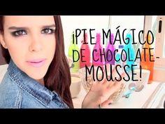 ¡PIE MÁGICO DE CHOCOLATE - MOUSSE! (Fácil y sin horno) ♥Yuya