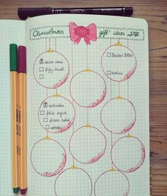 Image result for bujo weekly christmas