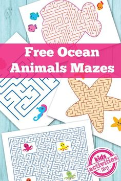 Ocean Themed Kids Activities - The Crafting Chicks