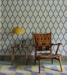 Tessella Wallpaper by Farrow & Ball | Jane Clayton