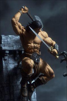 McFarlane Toys Rough Conan by dankatcher.deviantart.com on @deviantART