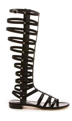 Go really Roman with summer gladiator sandals from @Margaret Alderman Boutique, inside The Cosmopolitan.