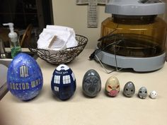 They're Easter eggs!