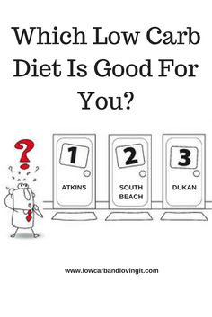 Atkins, Dukan, South Beach... The List goes on. Wondering which low carb diet plan is best for you? This article will help you make up your mind.