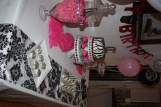 Party table set up...