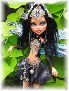 *Cleo Warrior Fairy OOAK Custom Monster High Doll | Flickr - Photo Sharing!