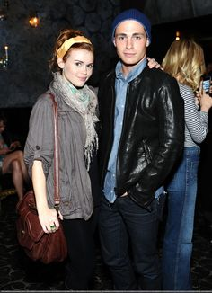 Holland Roden & Colton Haynes at ELLEs Second Annual Women In Music Concert (April 11, 2011).