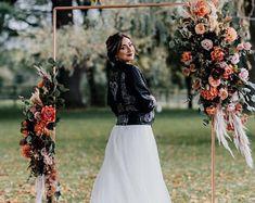Fall Wedding arrangement for wedding Arch/wedding Arbor 2   Etsy