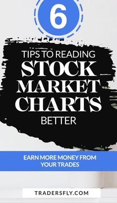 Stock Trading - Check out these 6 tips on how to read stock market charts better to earn more profits! Stock Market Chart, Stock Market Basics, Stock Charts, Dividend Stocks, Knowledge And Wisdom, Earn More Money, Risk Management, Educational Videos, Investing