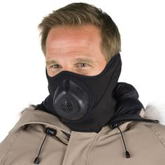 The Subzero Warm Breath Mask - Hammacher Schlemmer