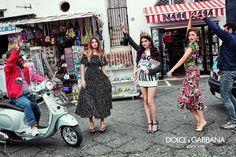 Dolce & Gabbana - Campanha primavera-verão 2017