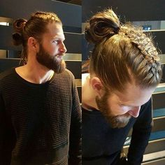 Male Viking Braids Idea viking style braids for men in 2019 viking hair braided Male Viking Braids. Here is Male Viking Braids Idea for you. Male Viking Braids the catalog of the selective ideas for viking hairstyles. Mens Braids Hairstyles, Cool Hairstyles For Men, Viking Hairstyles, Hair And Beard Styles, Curly Hair Styles, Natural Hair Styles, Viking Braids, Man Braids, Look Man