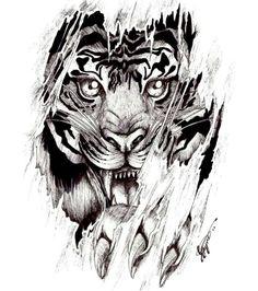 #Tiger #TattooDesign #Design