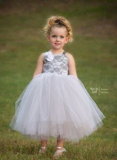 Classic Elegance ~ Fully lined Tulle Dress, Custom Colors and design, Perfect for weddings, parties and photo shoots - Hippity Hoot Notions