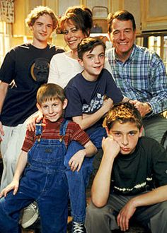 Malcolm in the Middle, yo. When my family members are all pissed at each other we watch this show and it makes us realize that it could be worse...