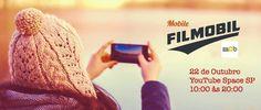 Quer aprender tudo sobre como filmar com seu celular? Então não perca tempo!! Em preparo para o primeiro mObgraphia film festival que acontece em novembro, dia 22 de outubro no YouTube Space São Pa...