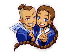 Katara and Sokka from Avatar the Last Airbender