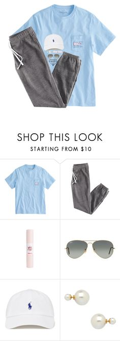 """""""rtd!"""" by lydia-hh ❤ liked on Polyvore featuring H&M, Ray-Ban and Blu Bijoux"""