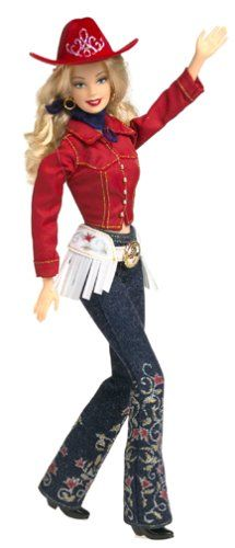 Western Chic BARBIE Doll Collector Edition (2001) is new in Mattel Barbie Collectibles Collector Edition... (New Products Awesome)