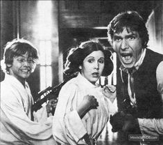 It looks like Luke planted a fake snake and Leia Found it and freaks, Han Thinks someone else put it there and is screaming bloody murder and all the while Luke is just so happy he got away with it