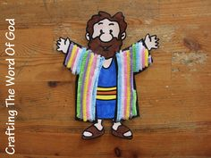 Coat Of Many Colors Pipe Cleaner Coat