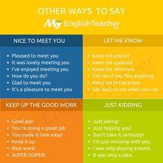 "Other ways to say ""just kidding"" - MyEnglishTeacher.eu"