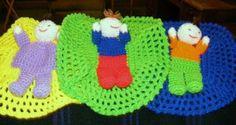 Crochet Patterns Only: Puppet Boy in a Blanket