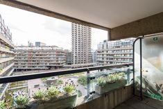 Sale of the Month: Bunyan Court, Barbican, London Barbican, One Bedroom, Modern Minimalist, Blinds, London, Architecture, Interior, House, Home Decor